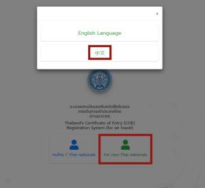 COE - 入境许可证
